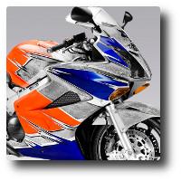 Fotografia reklamowa motocykla Honda VFR - www.Fotografia.kmpolska.pl